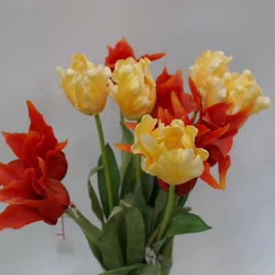 Bunte Blumen sind ein Muß am Frühlingsanfang.